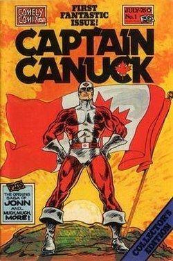 Captain Canuck httpsuploadwikimediaorgwikipediaenthumb8