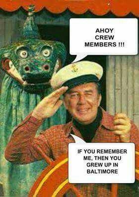 Captain Chesapeake Captain Chesapeake amp Moandie the sea monster now Traffic Jam Jimmy
