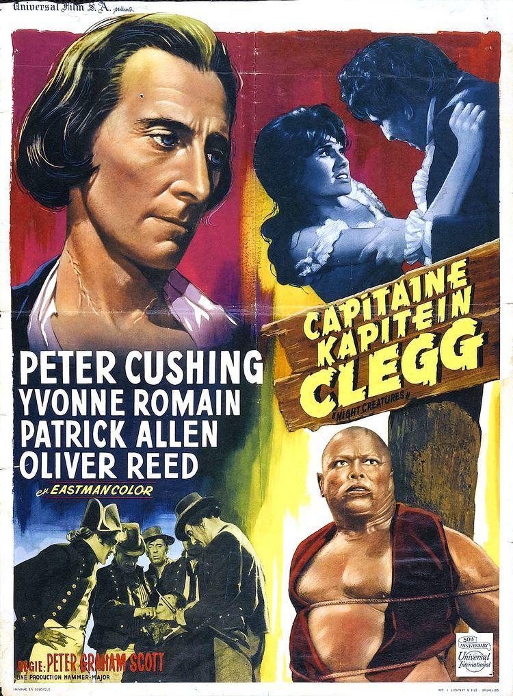 Captain Clegg (film) Poster for Night Creatures aka Captain Clegg 1962 UK Wrong