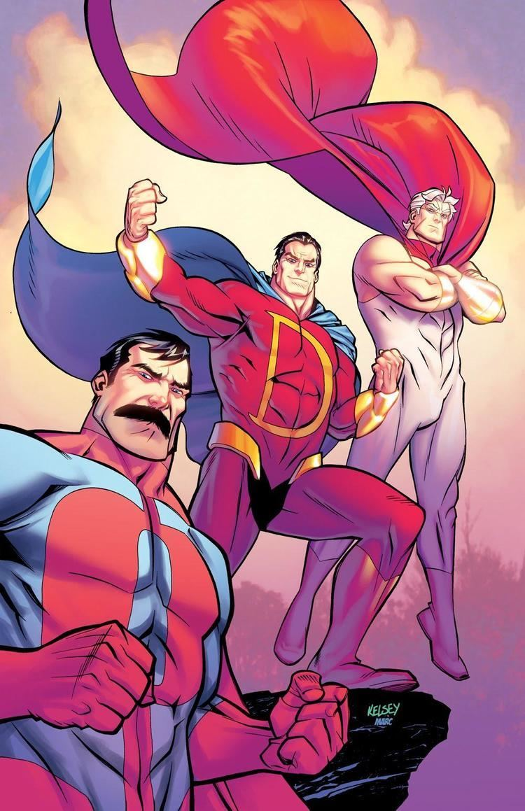 Captain Dynamo (comics) Captain Dynamo screenshots images and pictures Comic Vine