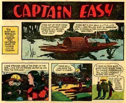 Captain Easy Leslie Turner Lambiek Comiclopedia