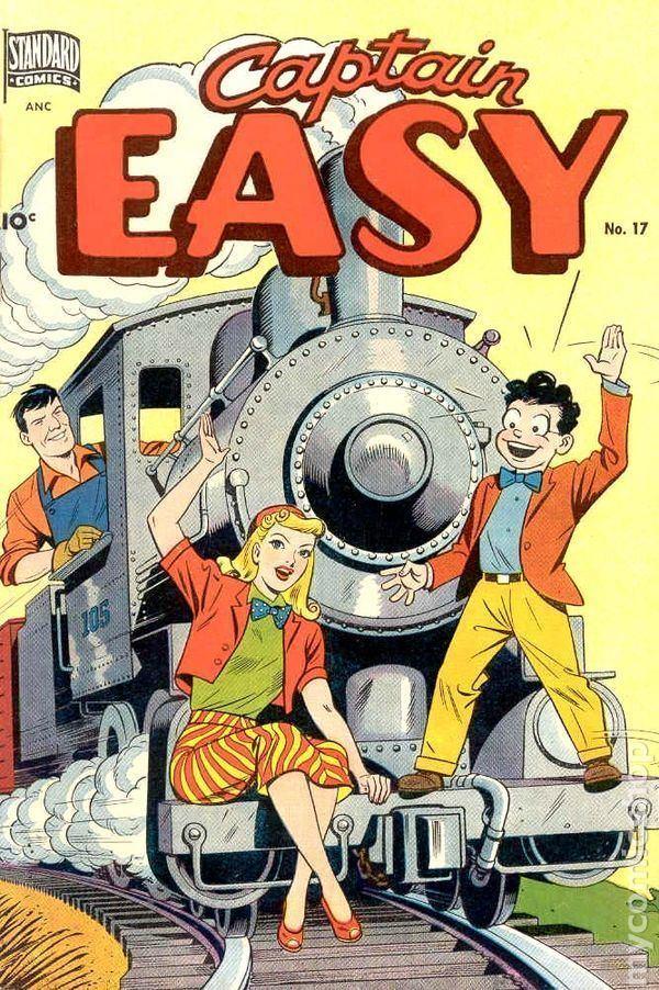 Captain Easy Captain Easy 1947 comic books