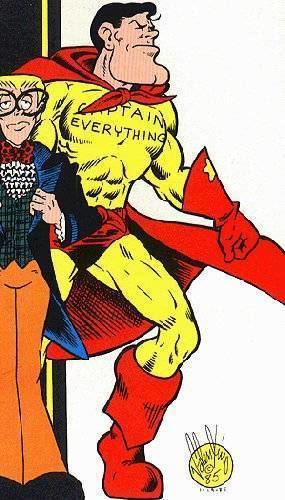 Captain Everything! Captain Everything Character Comic Vine