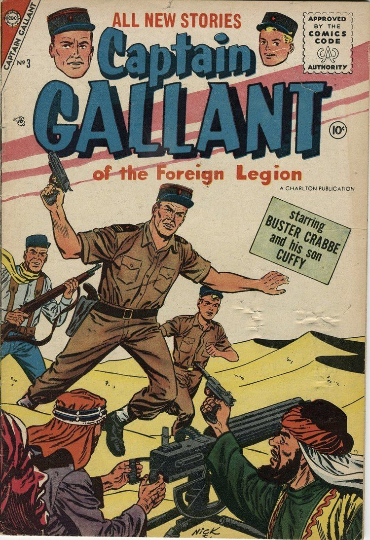 Captain Gallant of the Foreign Legion Captain Gallant Comic 3 Mon Legionnaire