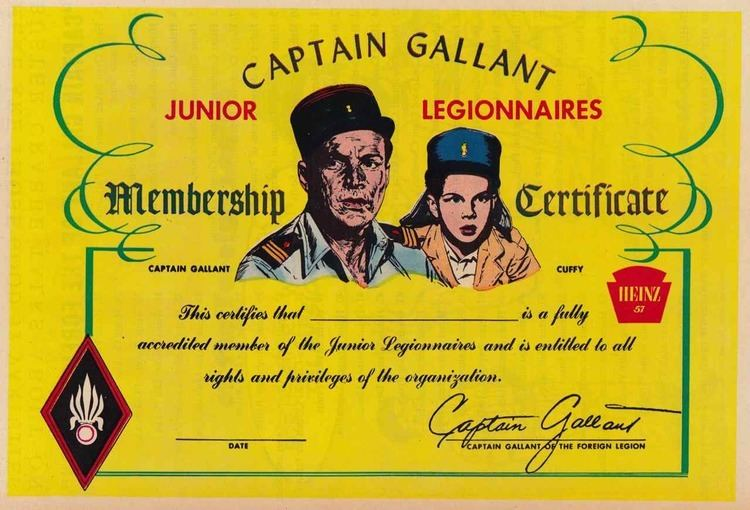 Captain Gallant of the Foreign Legion Sundry Collectibles Captain Gallant of the Foreign Legion