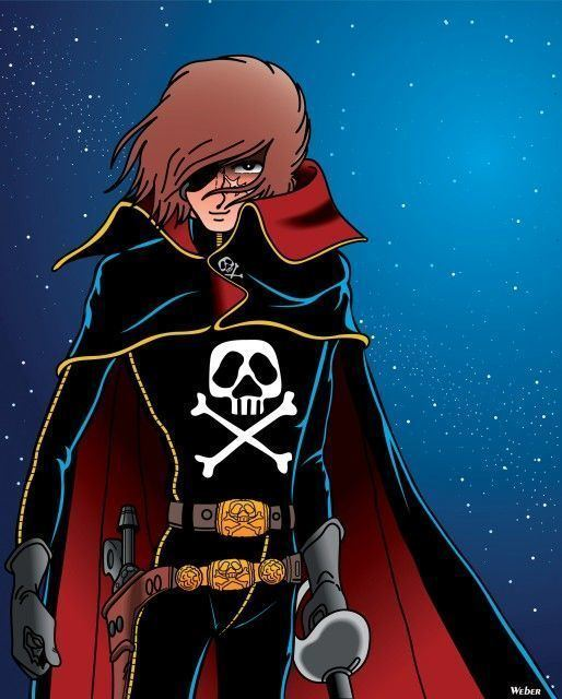 Captain Harlock 1000 ideas about Captain Harlock on Pinterest Space pirate