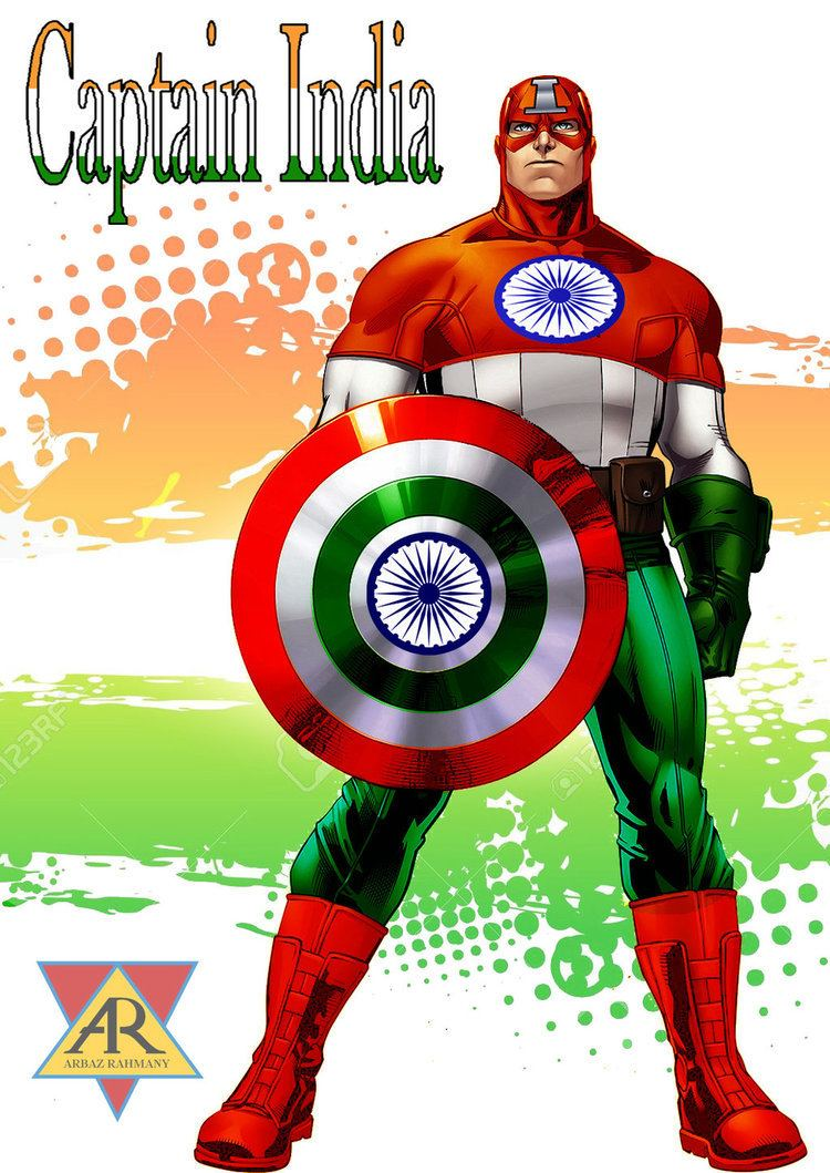 Captain India Captain India by arbazrahmany on DeviantArt