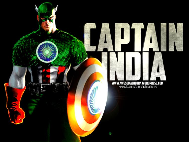 Captain India Captain India The first desi Avenger Ralpha Monkey