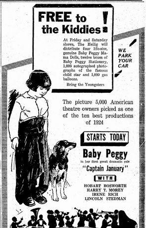 Captain January (1924 film) Captain January 1924 Silent Film Review Rating Plot Summary