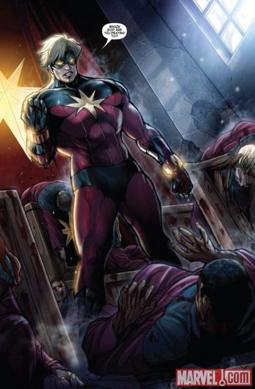 Captain Marvel (Mar-Vell) Quasar Vs Captain Marvel