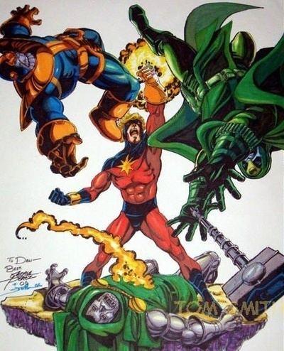 Captain Marvel (Mar-Vell) Captain Marvel Character Comic Vine