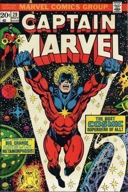 Captain Marvel (Marvel Comics) Captain Marvel MarVell Wikipedia