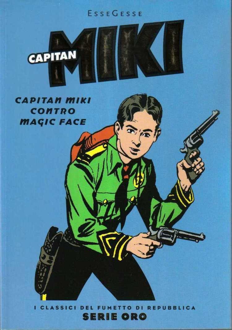 Captain Miki Capitan Miki Character Comic Vine