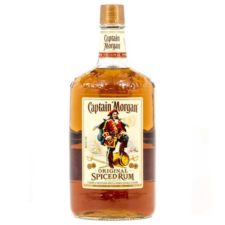 Captain Morgan CAPTAIN MORGAN SPICED RUM 175L Distiller39s List