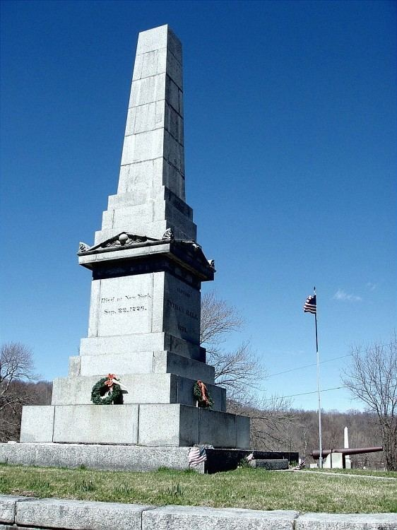 Captain Nathan Hale Monument