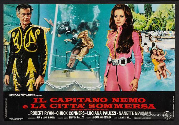 Captain Nemo and the Underwater City Nemo and the Underwater City Lobby card with Robert Ryan