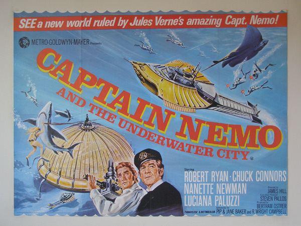 Captain Nemo and the Underwater City Captain Nemo and the Underwater City 1969 Review Mana Pop