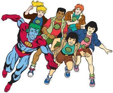Captain Planet and the Planeteers CAPTAIN PLANET AND THE PLANETEERS Summoned by Cartoon Network