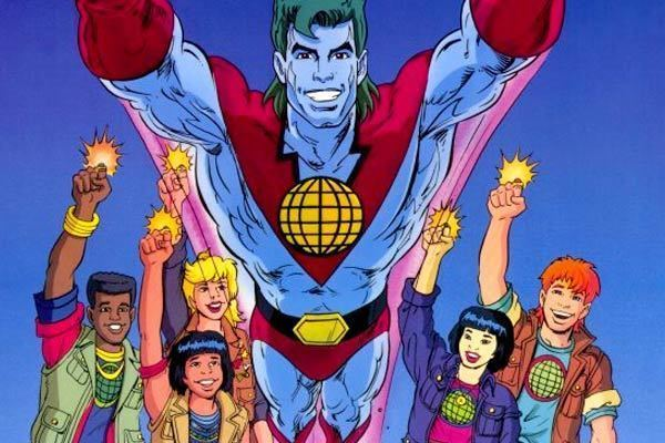 Captain Planet and the Planeteers Hollywood Adapt This CAPTAIN PLANET AND THE PLANETEERS Collider