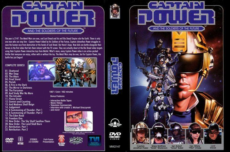 Captain Power and the Soldiers of the Future Captain Power and the Soldiers of the Future Complete Series