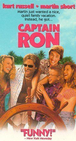 Captain Ron Amazoncom Captain Ron VHS Kurt Russell Martin Short Mary Kay
