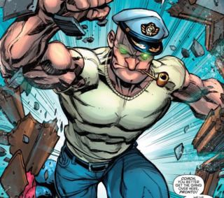 Captain Strong Captain Strong Character Comic Vine
