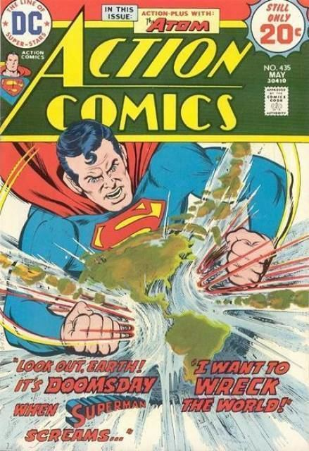 Captain Strong Action Comics 421 The Fantastic Feats of Captain Strong The
