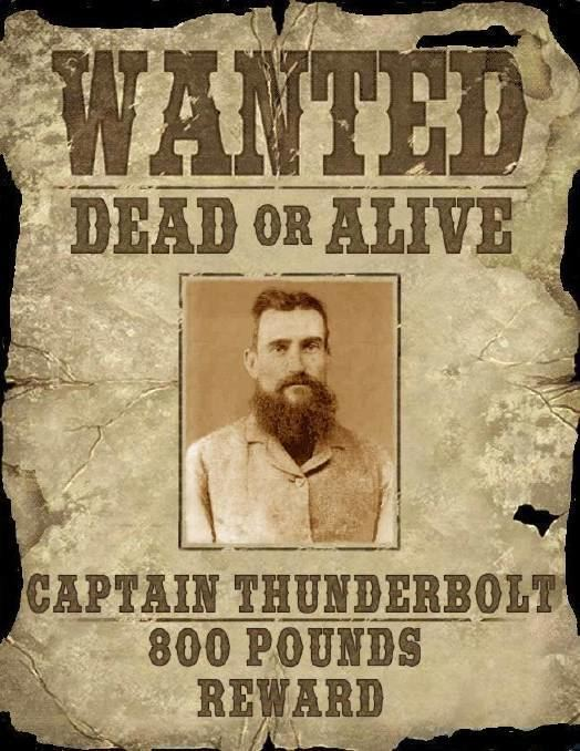 Captain Thunderbolt Whats in a name Captain Thunderbolt The Land