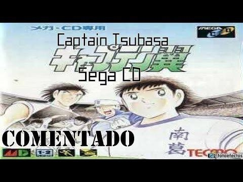 Captain Tsubasa (Mega-CD video game) Captain Tsubasa Sega CD Gameplay Comentado YouTube