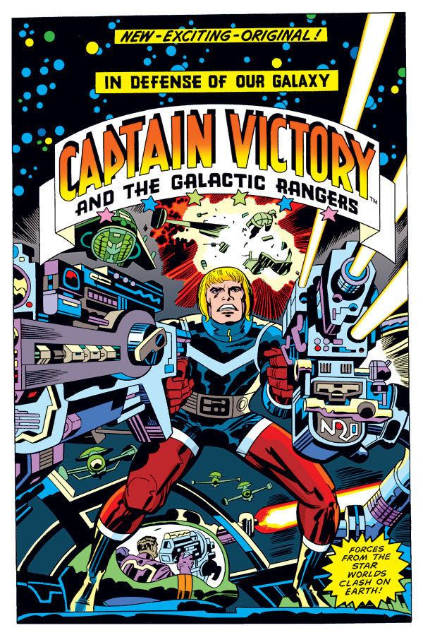 Captain Victory and the Galactic Rangers Upcoming Kirby Captain Victory hardcover Jack Kirby Comics Weblog