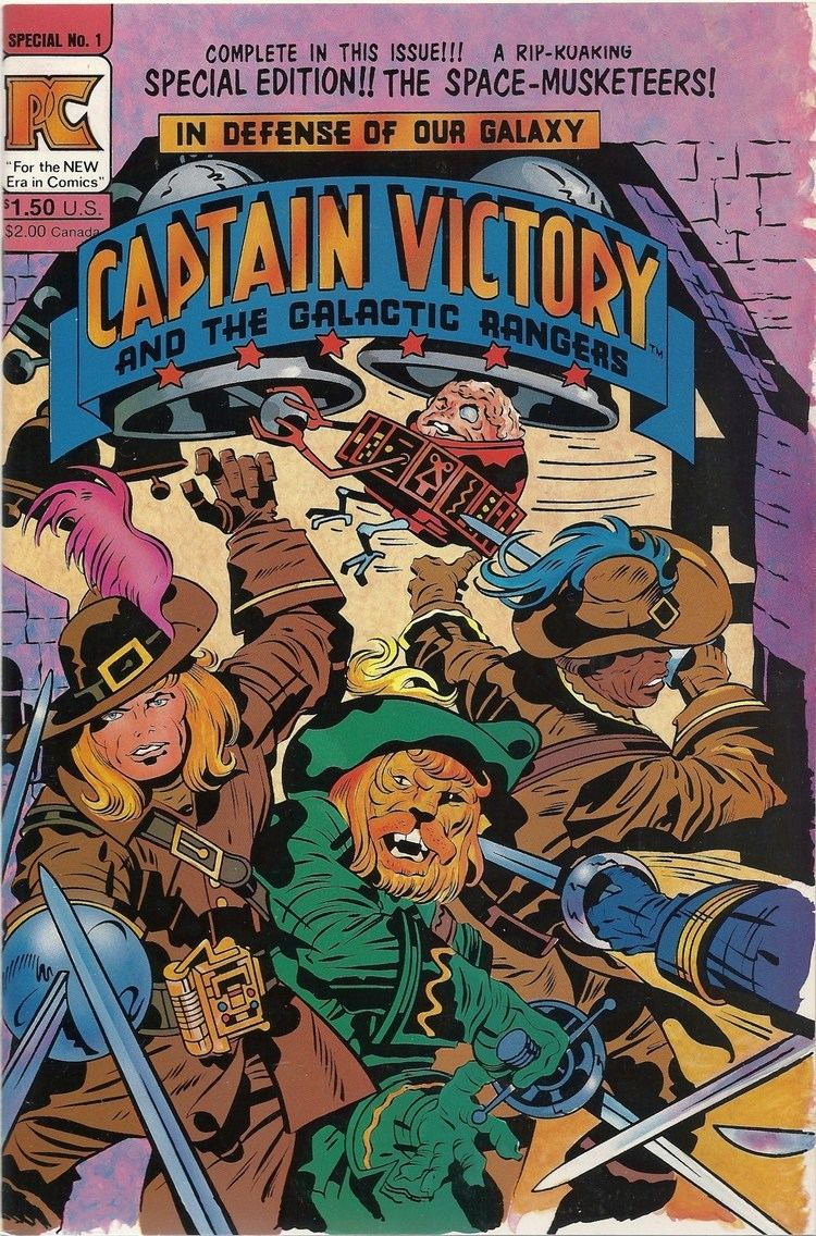 Captain Victory and the Galactic Rangers From the depths of Jack Kirby39s DList Captain Victory and the