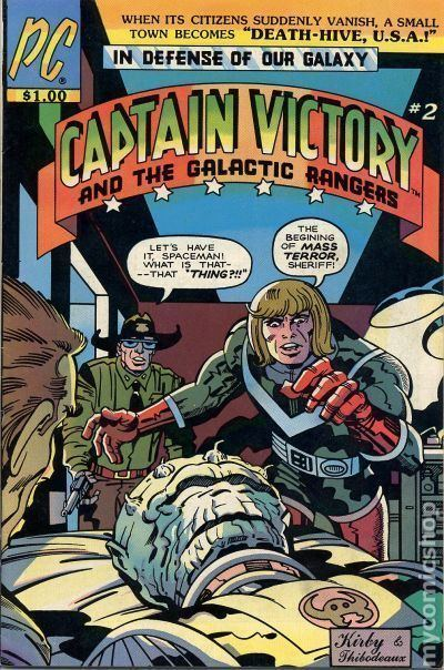Captain Victory and the Galactic Rangers Captain Victory and the Galactic Rangers 1981 Pacific comic books