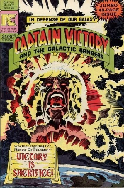 Captain Victory and the Galactic Rangers Captain Victory and the Galactic Rangers Volume Comic Vine