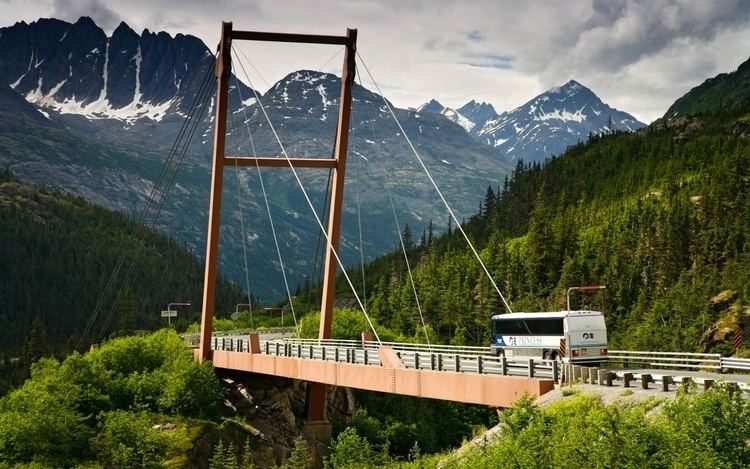 Captain William Moore Bridge Captain William Moore Bridge Alaska World39s Scariest Bridges