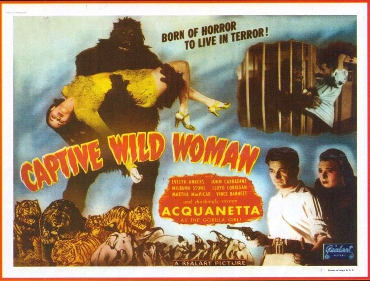 Captive Wild Woman Captive Wild Woman