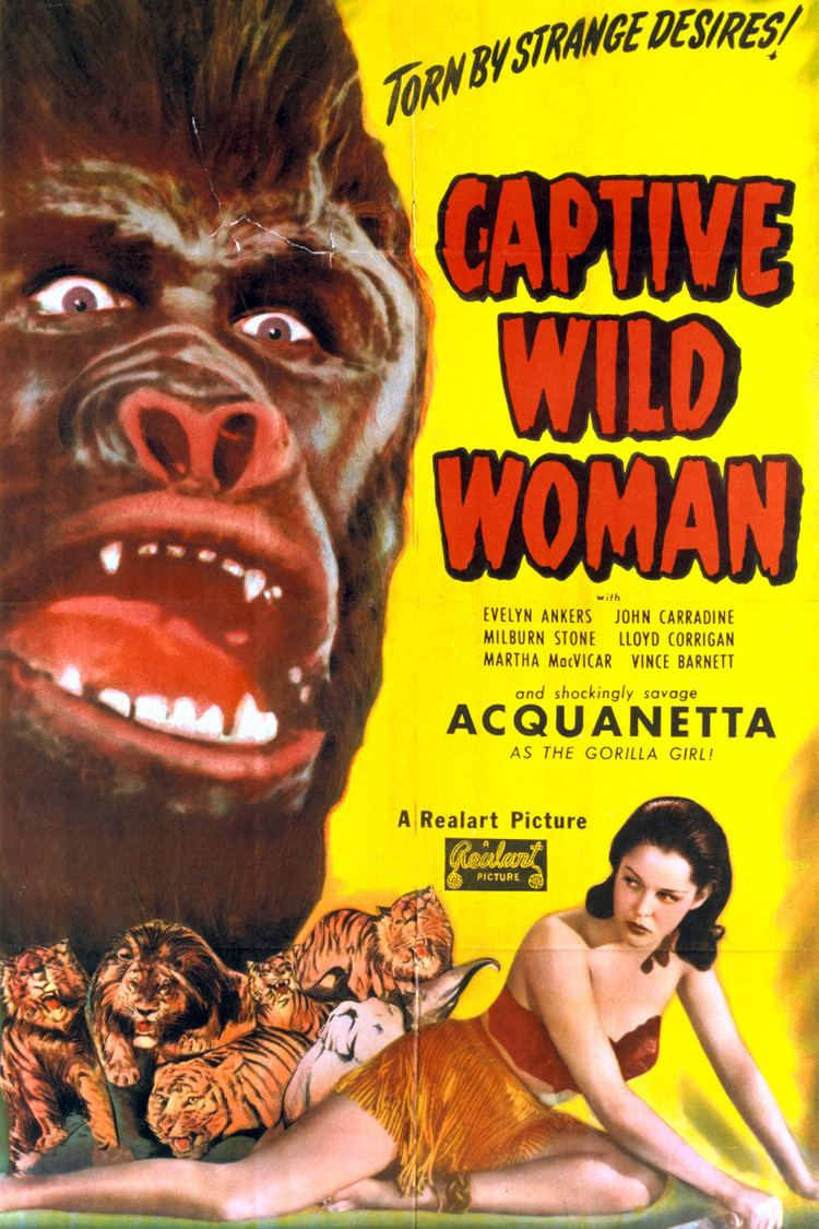 Captive Wild Woman wwwgstaticcomtvthumbmovieposters40086p40086