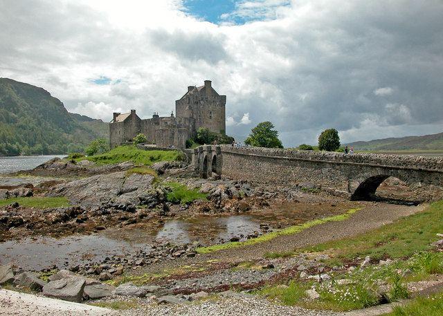 Capture of Eilean Donan Castle