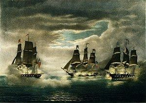 Capture of HMS Cyane and HMS Levant httpsuploadwikimediaorgwikipediacommonsthu