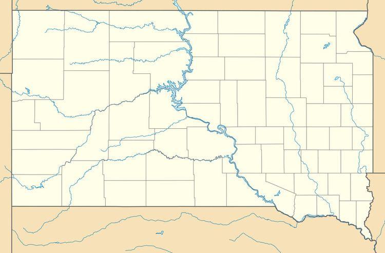 Caputa, South Dakota