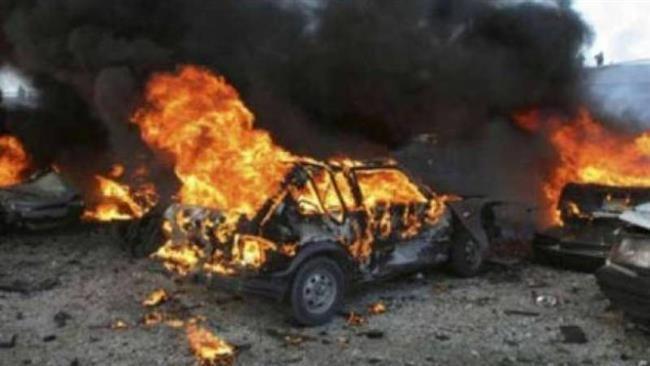 Car bomb PressTVCar bomb kills eight in Syrian capital