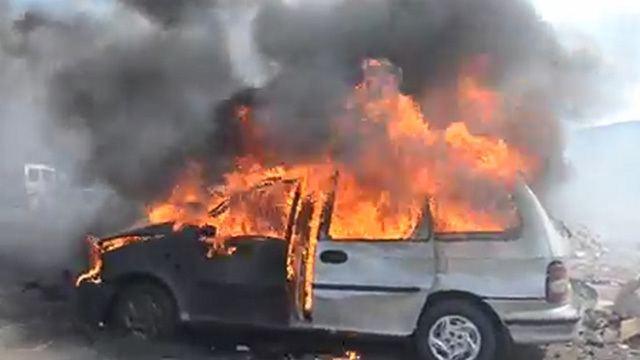 Car bomb Car bomb kills 2 near central Syrian town Metrovaartha English Edition