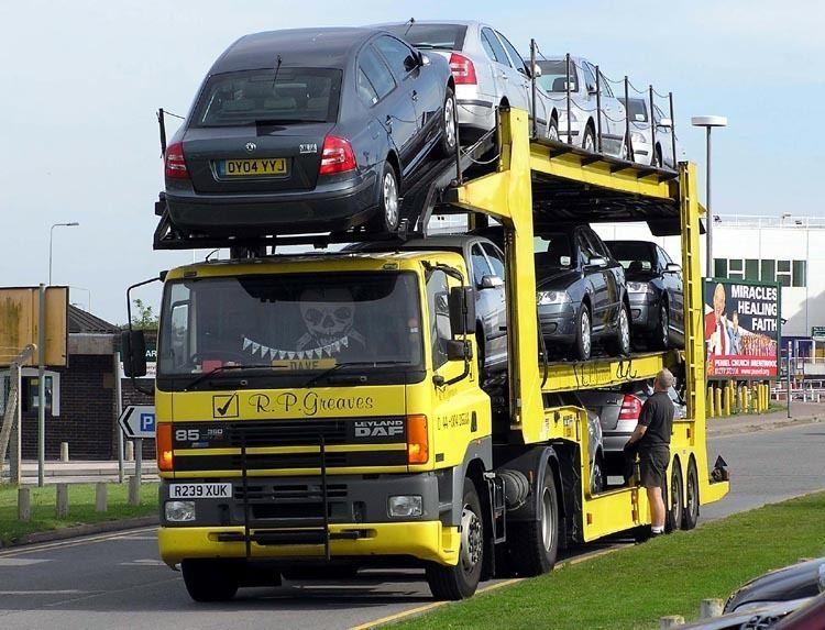 Car carrier trailer