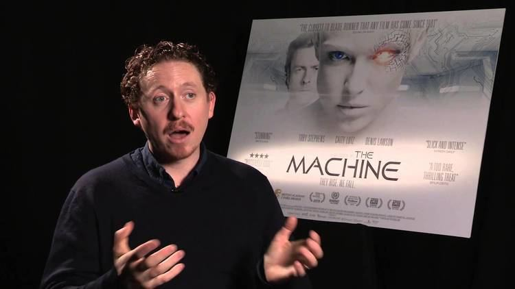 Caradog W. James The Machine Toby Stephens and Caradog W James Interview YouTube