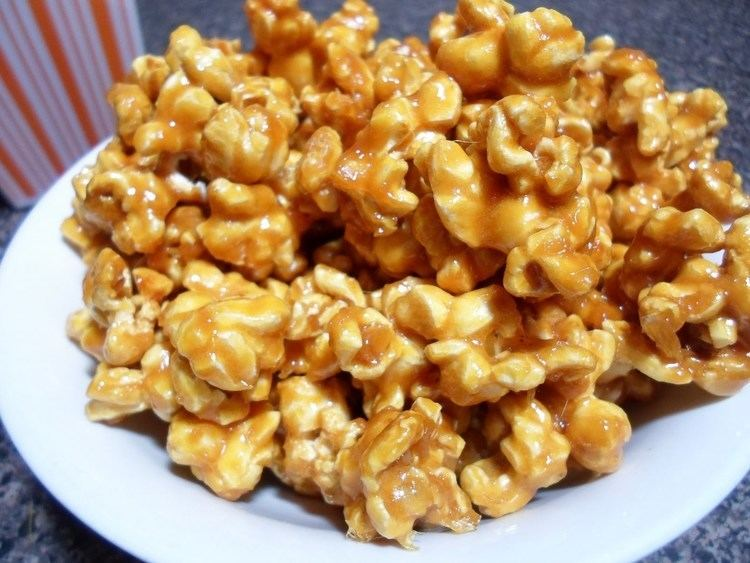 Caramel corn How to make Caramel Popcorn Easy Cooking YouTube