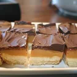 Caramel shortbread Chocolate Caramel Shortbread recipe All recipes UK