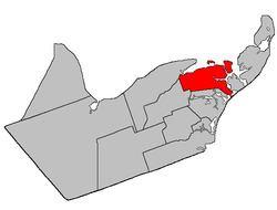 Caraquet Parish, New Brunswick httpsuploadwikimediaorgwikipediacommonsthu