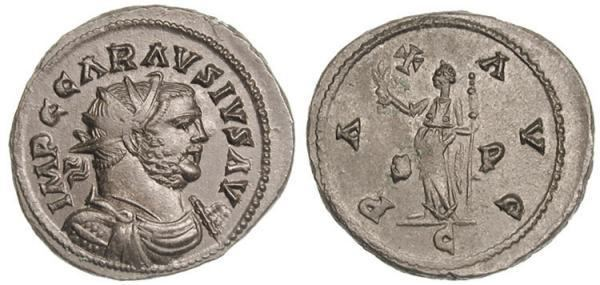 Carausius Carausius Roman Imperial Coins of at WildWindscom
