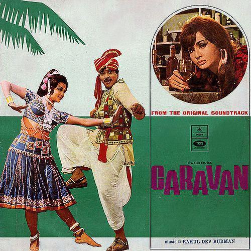 Rahul Dev Burman Caravan 1971 Odeon MOCE 4033 Music From The