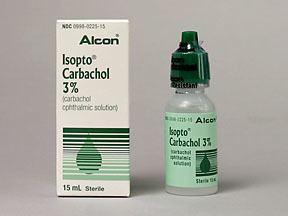Carbachol Carbachol Therapeutic uses Dosage amp Side Effects DoctorAlerts