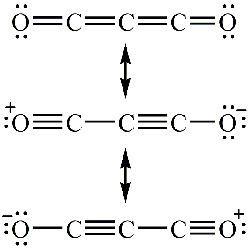 Carbon suboxide FileCarbon suboxide resonancegif Wikimedia Commons